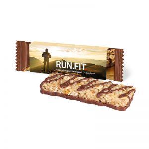 CORNY Müsliriegel Schokolade im Werbeschuber mit Logodruck
