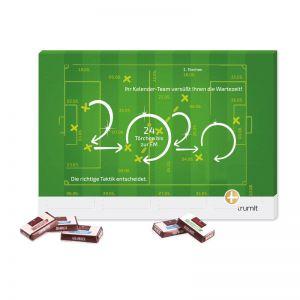 Countdown Kalender 10, 12, 15 oder 31 Türen mit Werbedruck