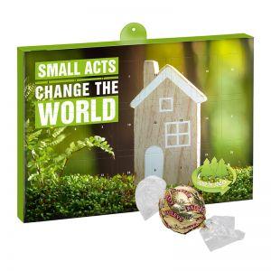 Eco Adventskalender Baileys Pralinen mit Werbedruck