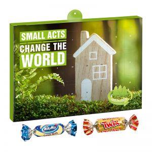 Eco Adventskalender Celebrations mit Werbedruck