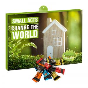 Eco Adventskalender Lindt HELLO Mini mit Werbedruck