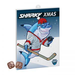 Eishockey Schoko-Adventskalender mit Logodruck