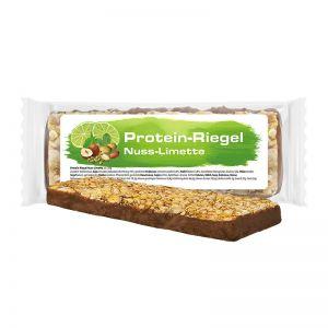 Express Nuss-Limette Protein-Riegel im Flowpack mit Werbeetikett