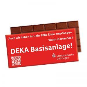 Express Premium Schokolade von Lindt & Sprüngli in Werbekartonage