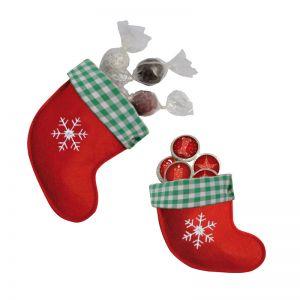 Filzstiefel mit Weihnachtstalern