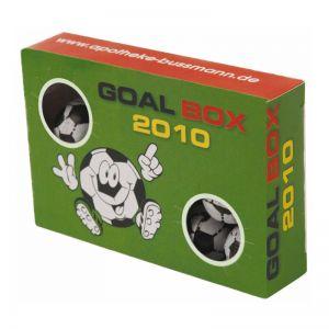 Goal Box mit Werbebedruckung