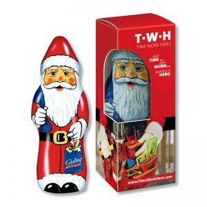 Gubor Weihnachtsmann in Werbekartonage
