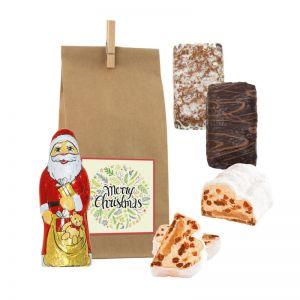 Happy Christmas Bag mit Werbeanbringung