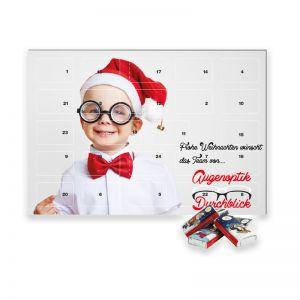 Heidel Tisch-Adventskalender mit Werbedruck