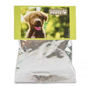 Hunde Leckerli-Pack mit individuellem Werbereiter