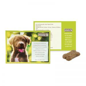 Hunde Leckerli-Tüte mit Werbedruck