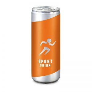 ISO SPORT Drink mit Werbebedruckung