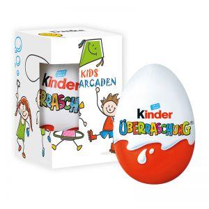 Kinder-Überraschung in Werbekartonage mit Logodruck