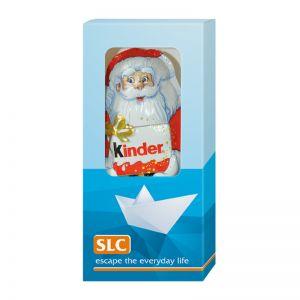 Kinder Weihnachtsmann in Werbekartonage