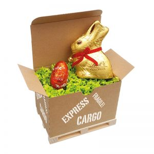 Lindt Cargo Box Ostern I mit Werbeanbringung