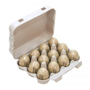 Lindt Mandorla 12er-Set in Eierverpackung mit Werbeanbringung