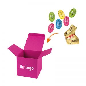 Lindt OsterMix in Color-Box mit Logodruck