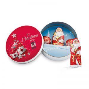 Lindt Weihnachts-Dose mit Werbedruck