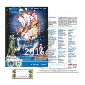 Lions Schoko Adventskalender A4