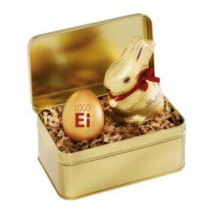 LogoEi Geschenkdose Gold