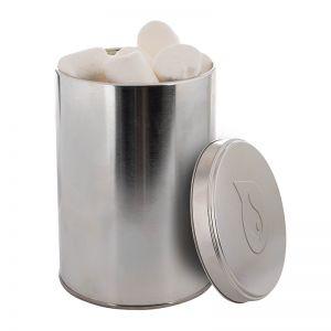 Marshmallows in 1,3 l Metalldose mit geprägtem Deckel
