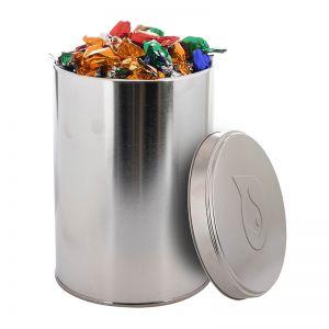 Metallic Bonbons in einer 1,3 l Metalldose mit geprägtem Deckel
