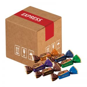 Mini-Cargo Merci-Chocolate Collection mit Werbeanbringung