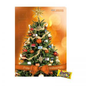 M&M´s minis Werbe Adventskalender ab 10 Stück