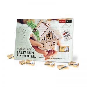 Organic Lindt Tisch Adventskalender Select Edition mit Werbedruck