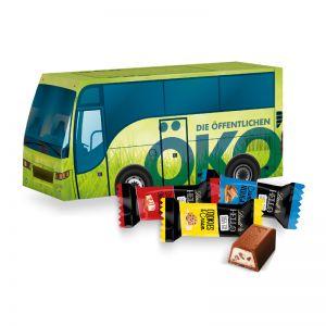 Oster Bus Lindt HELLO Mini Sticks mit Werbedruck