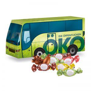 Oster Bus Lindt Macarons mit Werbedruck