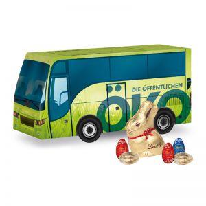 Oster Bus Lindt mit Logodruck