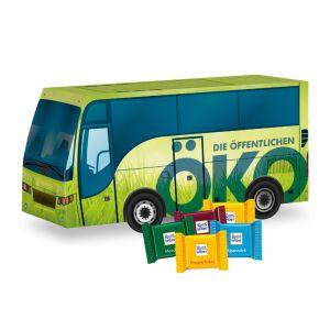 Oster Bus Ritter SPORT mit Logodruck