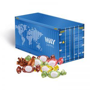 Oster Container Lindt Macarons mit Werbedruck