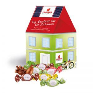 Oster Häuschen Lindt Macarons mit Werbebedruckung