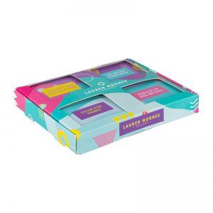 POS Mini Verkaufsbox mit 4 Pfefferminzdosen und Werbedruck