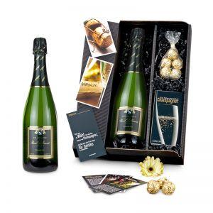 Präsent Champagner-Box