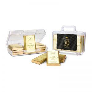 Präsent Goldkoffer Sie sind Gold-Wert