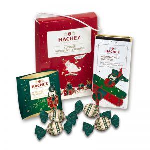 Präsent Weihnachtstasche kleiner Weihnachtsgruß von HACHEZ