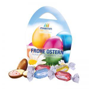 Premium Osterei Lindt Joghurt-Eier mit Werbedruck