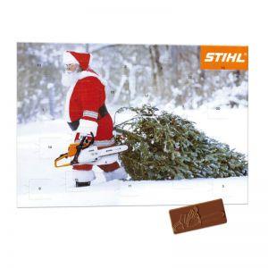 Promotion Adventskalender A4 23+1 Türchen mit Werbedruck
