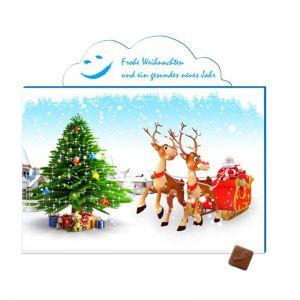 Promotion Adventskalender A5 Wolke mit Werbedruck