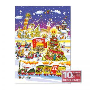 Promotion Gutschein Schoko-Adventskalender 26 + 1 Türchen