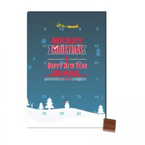 Promotion Tisch-Adventskalender A5+ mit Logodruck