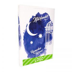 Ramadan Dattel-Schokokalender mit Logodruck