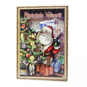Schokoladen Krimi-Adventskalender individuell bedruckt