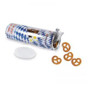 Snack-Roll mit Brezeln und Werbedruck