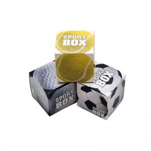 Sport Box mit Logodruck