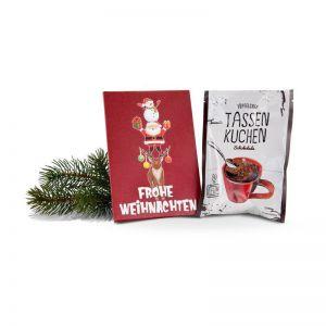 Tassenkuchen Standardmotiv Frohe Weihnachten