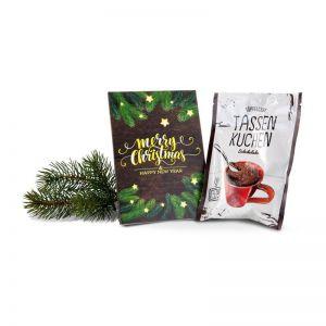 Tassenkuchen Standardmotiv Merry Christmas